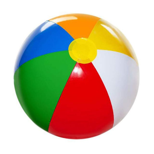 4E's Novelty 12-Pack Inflatable 20-Inch Beach Ball