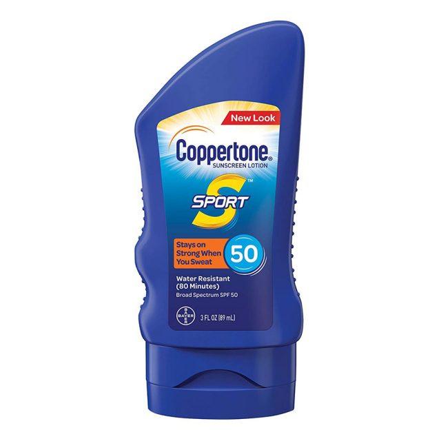 Coppertone SPORT Lotion Broad Spectrum SPF 50 Sunscreen