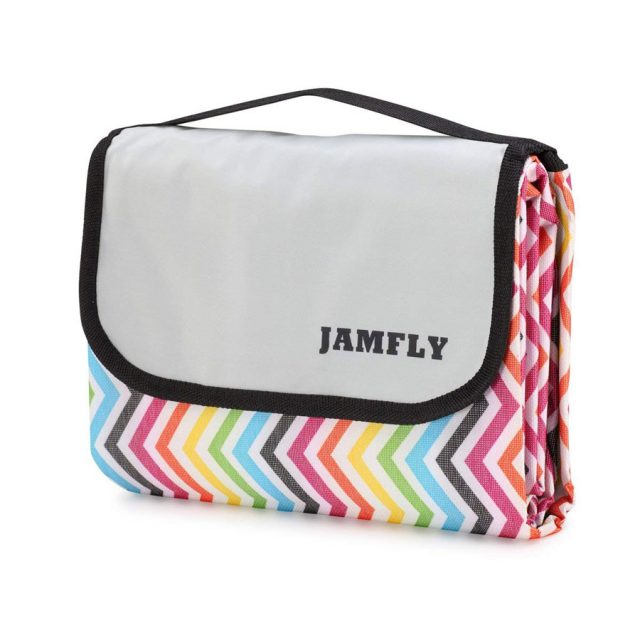Jamfly Outdoor Waterproof Backing Beach Mat