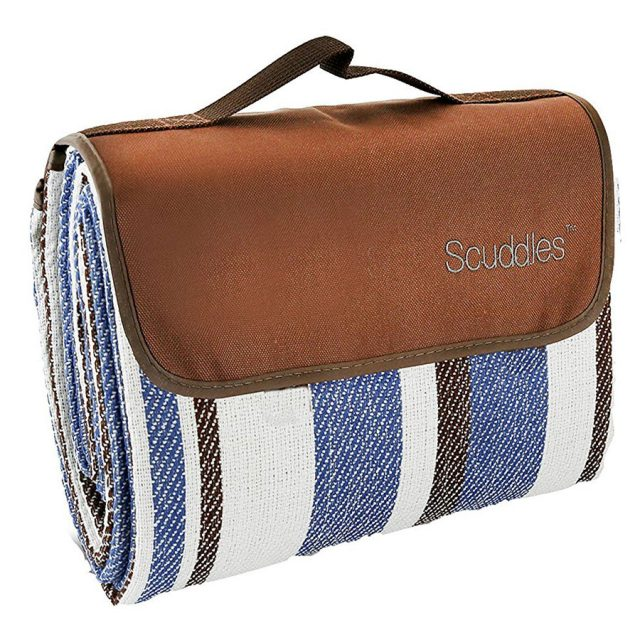 Scuddles Extra Large Water-Resistant Beach Mat