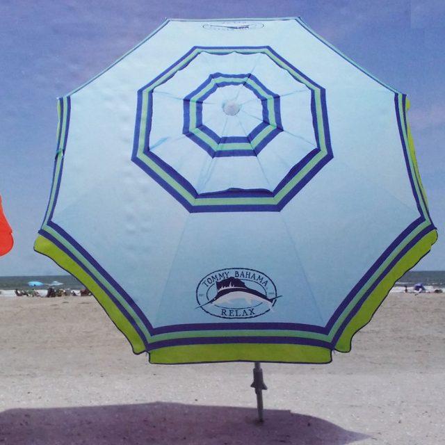 Tommy Bahama Sand Anchor Tilt Beach Umbrella