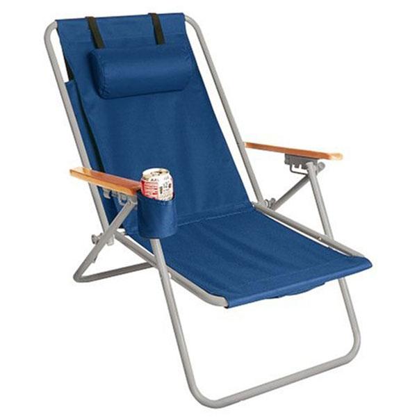 WearEver Hi-Back Deluxe Steel Backpack Beach Chair