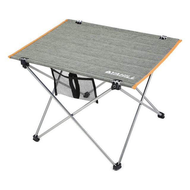 Yahill Aluminum Folding Roll Up Beach Table